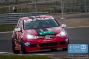 DNRT Endurance Finale Races 2014 op Circuit Park Zandvoort - The Dukes - VW Golf TDi