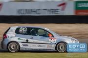 DNRT Endurance Finale Races 2014 op Circuit Park Zandvoort - Match MPO - VW Golf TDi