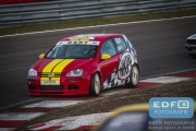 DNRT Endurance Finale Races 2014 op Circuit Park Zandvoort - Gijs Bessem en Harry Hilders - VW Golf TDi - VW Golf TDi