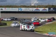 Start Porsche Club Historic Racing - Jan van Es Porsche 993 - DNRT Super Race Weekend - Circuit Park Zandvoort