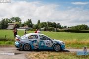 Arjen de Koning - Sande van Barschot - Mitsubishi Lancer EVO 10 R4 - GTC Rally 2014 - Etten-Leur