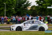 Martin van Iersel - Marvin Molenkamp - Mitsubishi Lancer EVO 10 R4 - GTC Rally 2014 - Etten-Leur