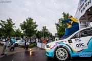 Arjen de Koning - Sander van Barschot - Mitsubishi Lancer EVO 10 R4 - GTC Rally 2014 - Podium Etten-Leur