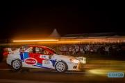 Han Hoendervangers - Lieke Bouman-Dautzenberg - Mitsubishi Lancer EVO 10 R4 - GTC Rally 2014 - Etten-Leur