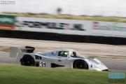 Gareth Evans - Chamberlain Synergy - Sauber Mercedes C11 - Historic Group C / GTP Racing Championship - Historic Grand Prix Zandvoort