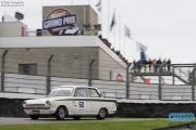 Rene Wallner - Ford Lotus Cortina - Pre '66 Touring Cars - Historic Grand Prix Zandvoort