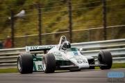Tommy Dreelan - Williams FW08 - FIA Masters Historic Formula one - Historic Grand Prix Zandvoort