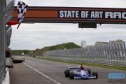 Michael Lyons - Hesheth 308E - FIA Masters Historic Formula one - Historic Grand Prix Zandvoort