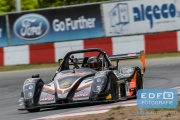 Pim van Riet - Danny Brand - Radical SR8 - Supercar Challenge Superlights - New Race Festival - Circuit Zolder