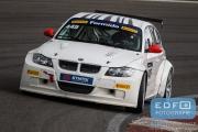 Robert van den Berg - Sandra van der Sloot - BMW 132i - Harders Plaza Racing - BMW WTCC - Comparex Racing - Supercar Challenge - Supersportklasse - Paasraces 2015 - Circuit Park Zandvoort