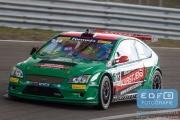 Kim Troeyen - Ford Focus Silhouette - AT Motorsport - Supercar Challenge - Sportklasse - Paasraces 2015 - Circuit Park Zandvoort