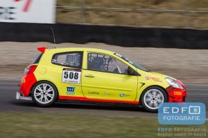 Toon Rutgers - Marco Poland - Renault Clio RS 2.0 16V - Spirit Racing - Supercar Challenge - Sportklasse - Paasraces 2015 - Circuit Park Zandvoort