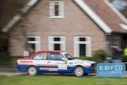 Henk Bakkenes - Aaldert Aaltink - BMW 325i E30 - Rally van Putten 2015