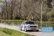 Janjur Monshouwer - Dolf Dekking - Opel Ascona - Short Rally van Putten 2015