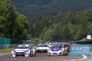 Ward Sluys - Frédérique Jonckheere - JR Motorsport - BMW M4 Silhouette - Marcel van Berlo - Van Berlo Racing - Porsche 997 GT3 - Supercar Challenge - Spa Euro Race - Circuit Spa-Francorchamps
