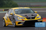 Dennis Houweling - Priscilla Speelman - Ferry Monster Autosport - Seat Sport Leon Cup Racer - Supercar Challenge - Spa Euro Race - Circuit Spa-Francorchamps