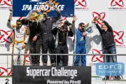 Podium SuperSport - Supercar Challenge - Spa Euro Race - Circuit Spa-Francorchamps