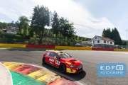 Kim Troeijen (NL) - Wim Lemmers (NL) - Ford Focus Silhouette - 10 June 2016- Spa Euro Races 2016 - 3rd round of the Supercar Challenge powered by Pirelli 2016