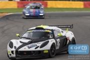 Carlijn Bergsma (NL) - Pieter de Jong (NL) - Lotus Exige - Van der Kooi Racing - 11 June 2016- Spa Euro Races 2016 - 3rd round of the Supercar Challenge powered by Pirelli 2016