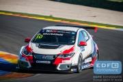 Gianni Morbidelli - West Coast Racing - Honda Civic TCR - TCR International Series - Circuit Ricardo Tormo Valencia
