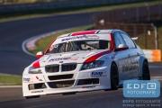 Bas van de Ven - Simon Knap - MDM Metalak - BMW 320D WTCC - Zandvoort 500 - Winter Endurance Kampioenschap 2014-2015