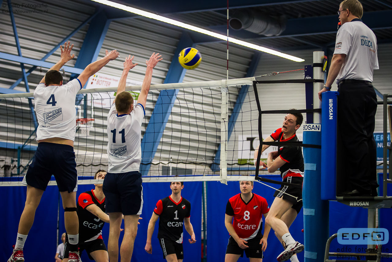 Volleybal - Apollo 8 - Sliedrecht Sport
