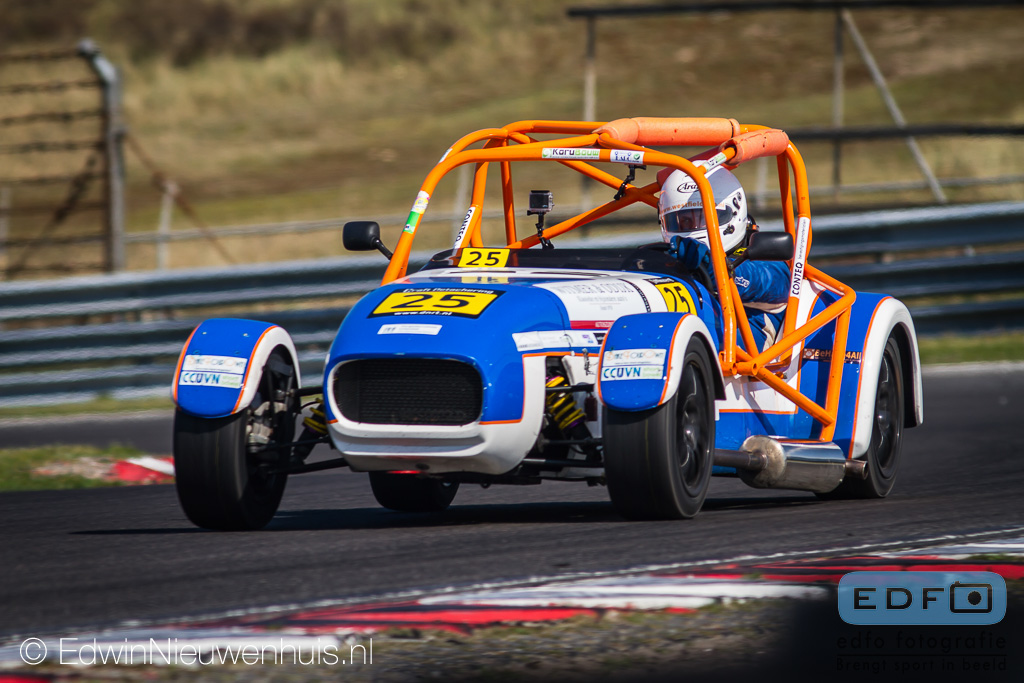 DNRT Westfield Cup tijdens de DNRT Racing Days 1 Auto's B 2014