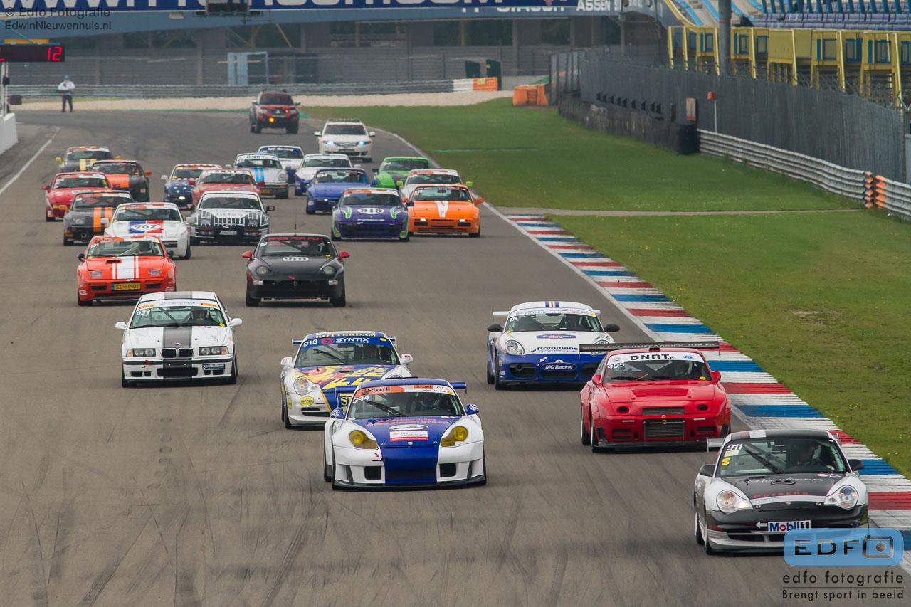 Start DNRT Porsche klasse - TT-Circuit Assen