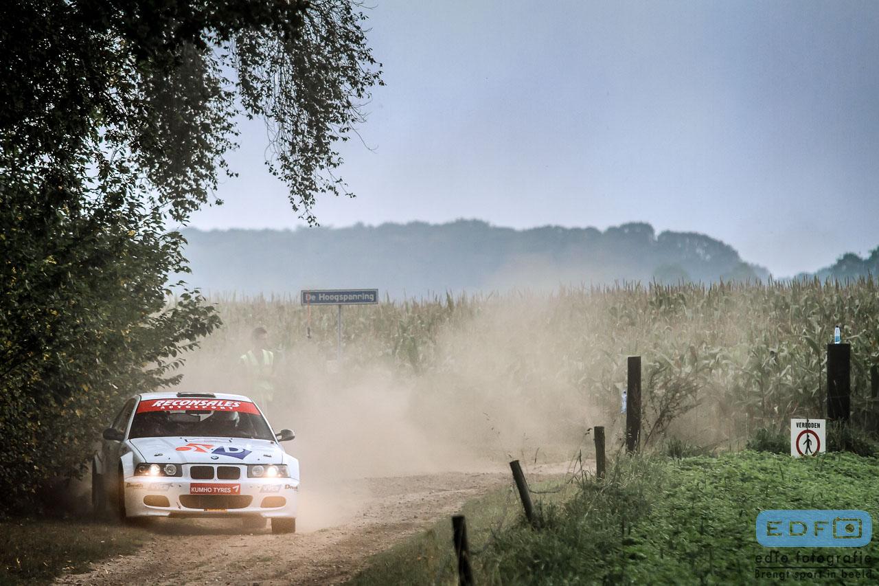 Jan Nijhof - Henk-Jan Elbert - BMW Compact M3 - Unica Schutte ICT Hellendoorn Short Rally 2014