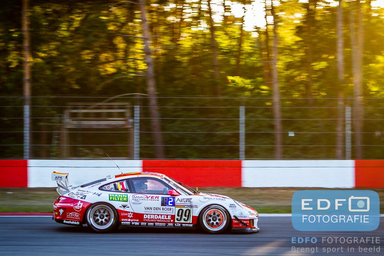 Winst in de 24 Hours of Zolder 2013 voor de Porsche 997 van Belgium Racing