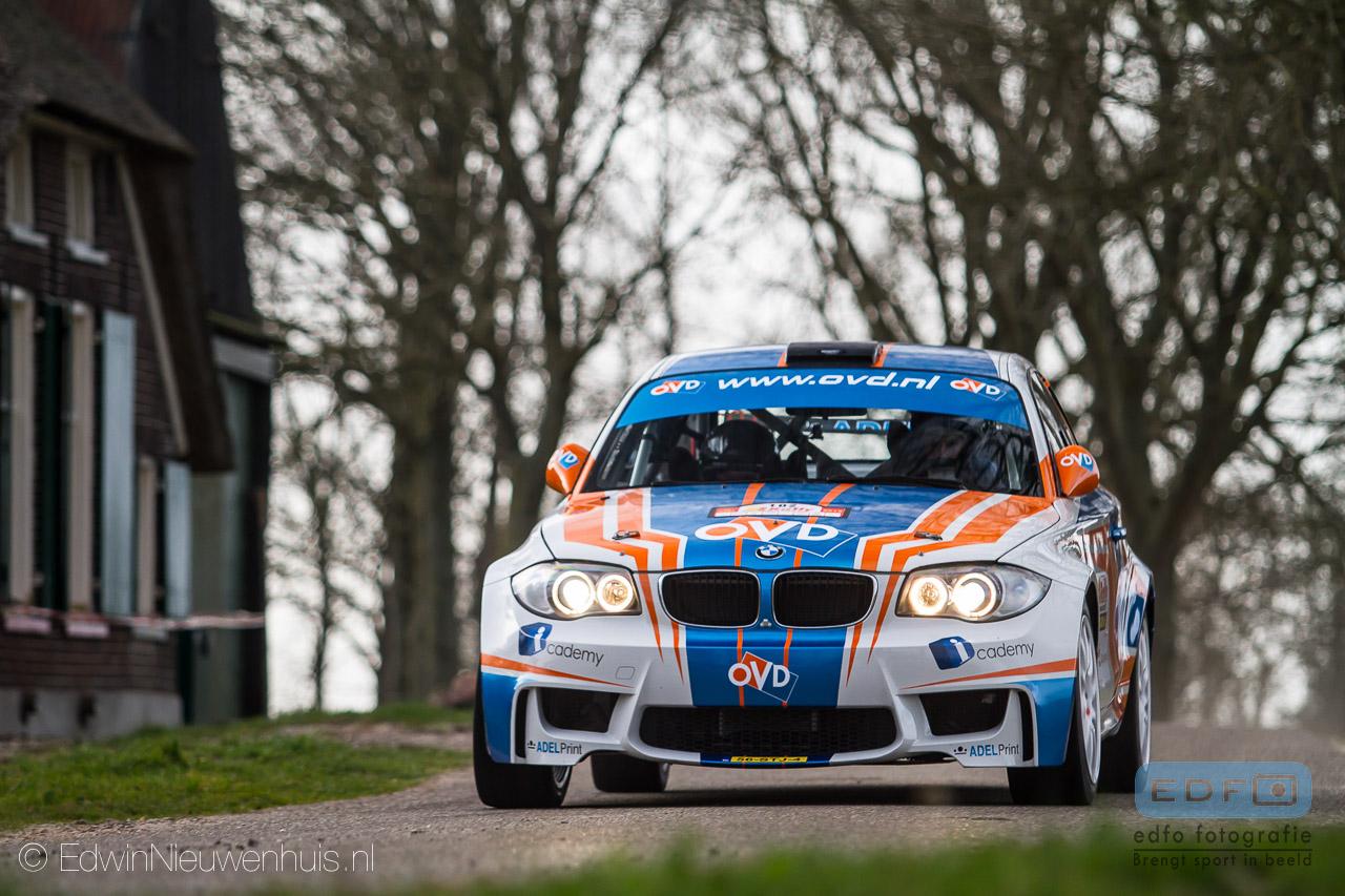 Wouter Ploeg - Harm van Koppen - BMW 1M Coupe - Tank S Short Rally Emmeloord