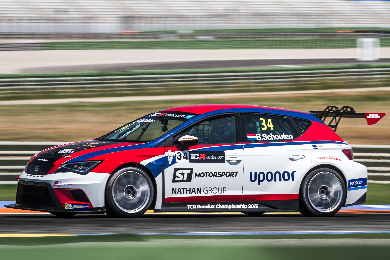 Bas Schouten - ST Motorsport - Bas Koeten Racing - SEAT Leon Cup Racer - TCR International Series - Valencia - TCR Benelux Championship 2016