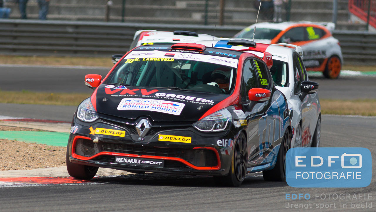 Niels Langeveld - Renault Clio - Clio Cup Benelux - Syntix Super Prix - Circuit Zolder