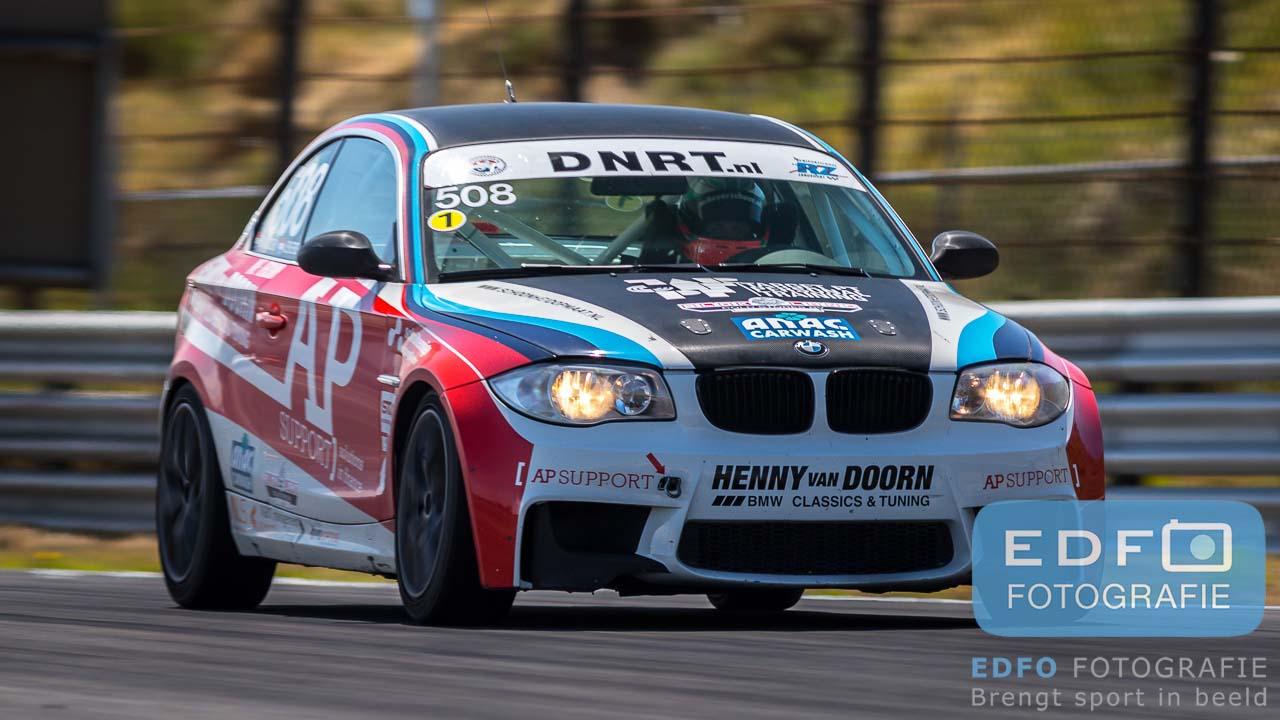 Henny van Doorn - Jan Evers - Mike Verschuur - BMW 123D - DNRT Endurance 12 uur race - Circuit Park Zandvoort
