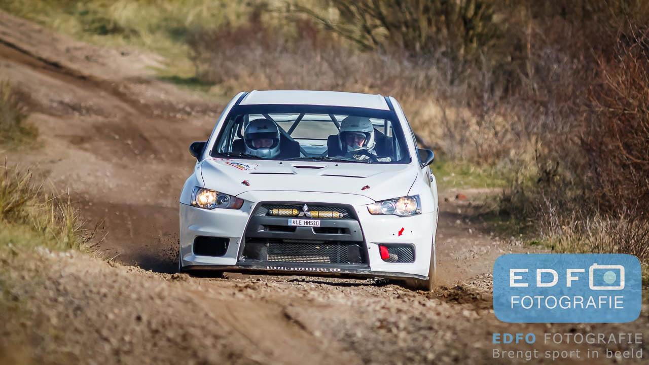 Jasper van den Heuvel en Steen Andersen winnen de Circuit Short Rally 2016 op Circuit Park Zandvoort
